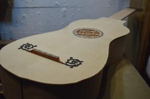 Stradivari Baroque Guitar Top