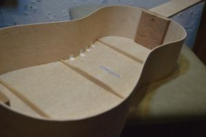 Stradivari Baroque Guitar Back and Sides