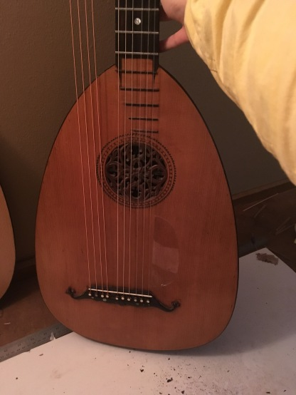 german lute guitar